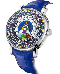 "Louis Vuitton Escale Worldtime Only Watch 2015 ""The world is a dancefloor"""
