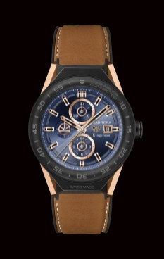 TAG Heuer SBF8A8023.32EB0103 KINGSMAN SPECIAL EDITION - BROWN LEATHER STRAP 2017 HD noir allumé
