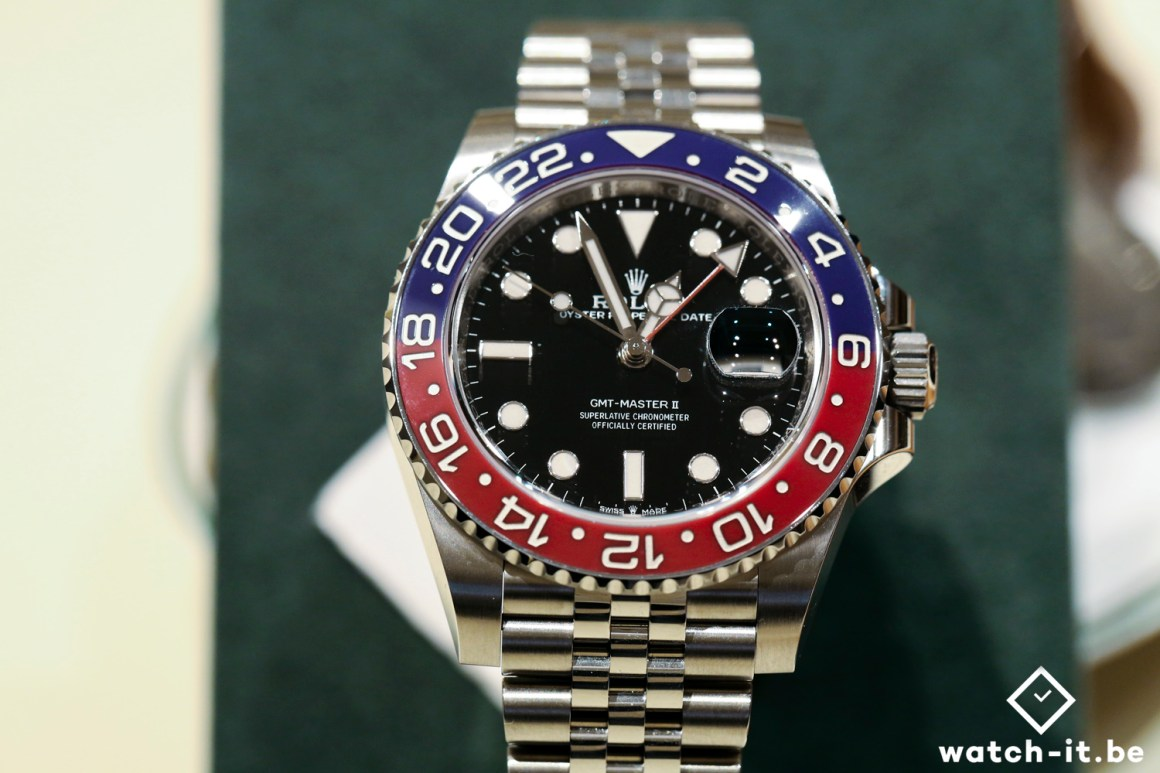 Rolex GMT-Master II Pepsi - 126710BLRO