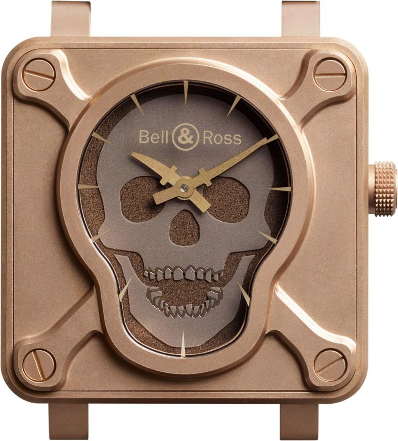 Bell & Ross BR 01 Skull Bronze