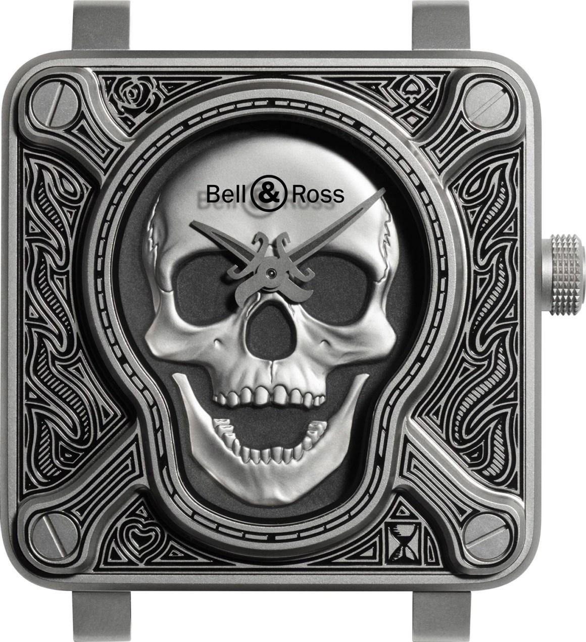 Bell & Ross BR 01 Burning Skull