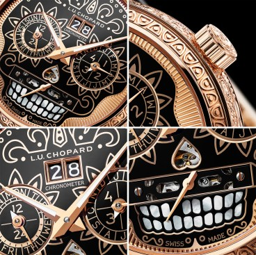 Chopard L.U.C Perpetual T Spirit of La Santa Muerte 161941-5005 detail assembly