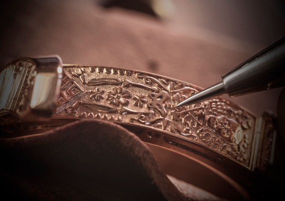 Making of - Engraved case L.U.C Perpetual T Spirit of La Santa Muerte 161941-5005 (5)