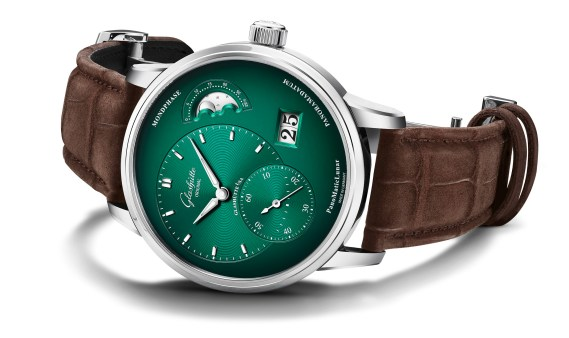 Glashütte Original PanoMaticLunar forest green-1