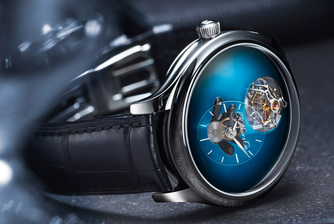 H. MOSER X MB&F Endeavour Cylindrical Tourbillon