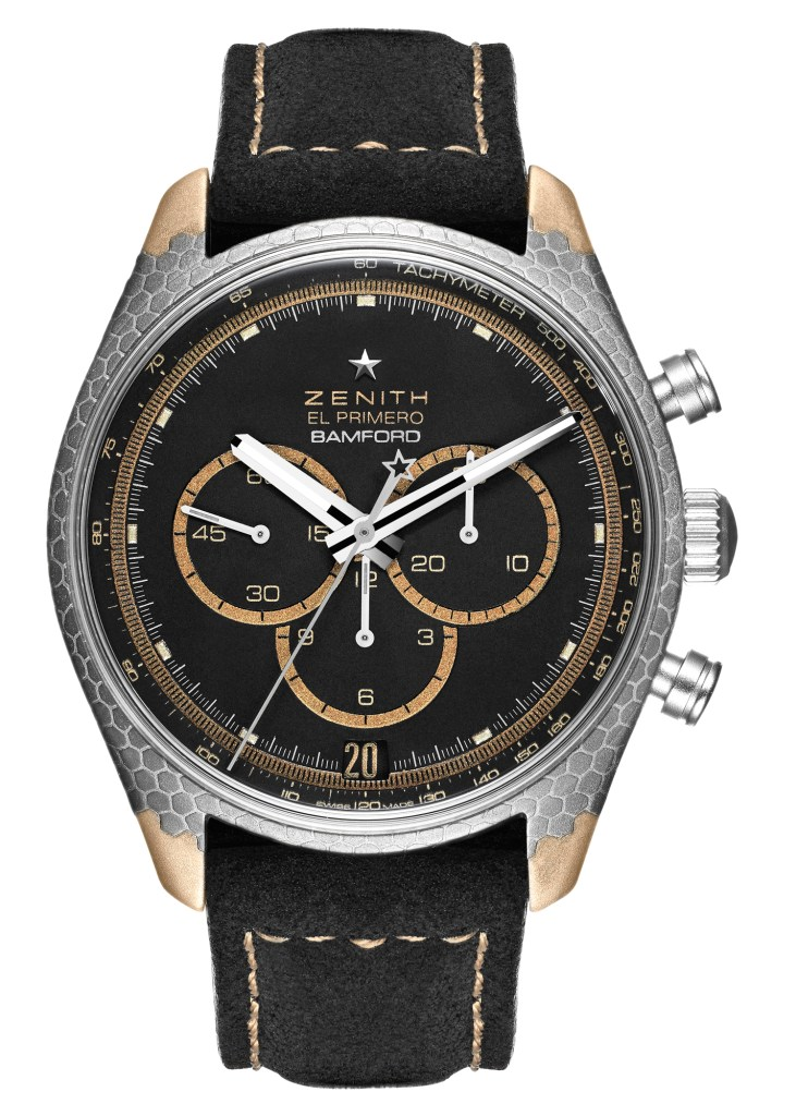 Bamford Watch Department X Black Badger Zenith El Primero Superconductor