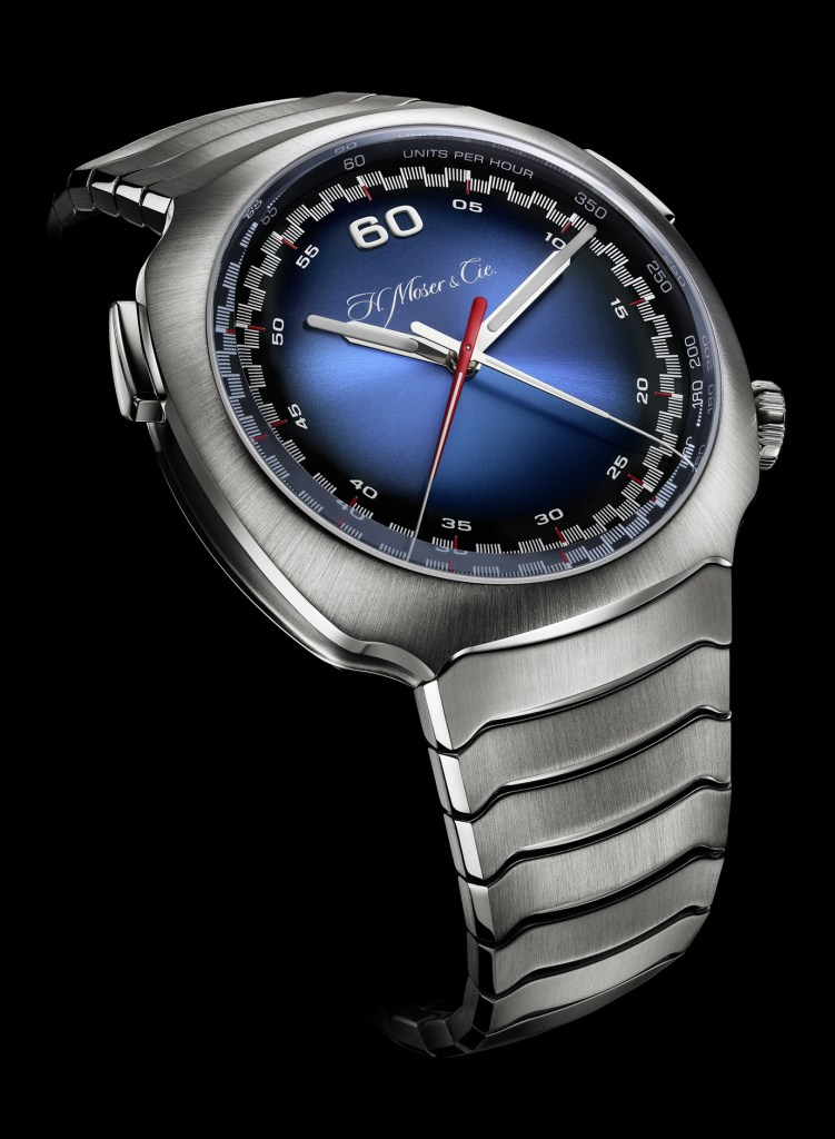 H. Moser Streamliner Flyback Chronograph Automatic Funky Blue