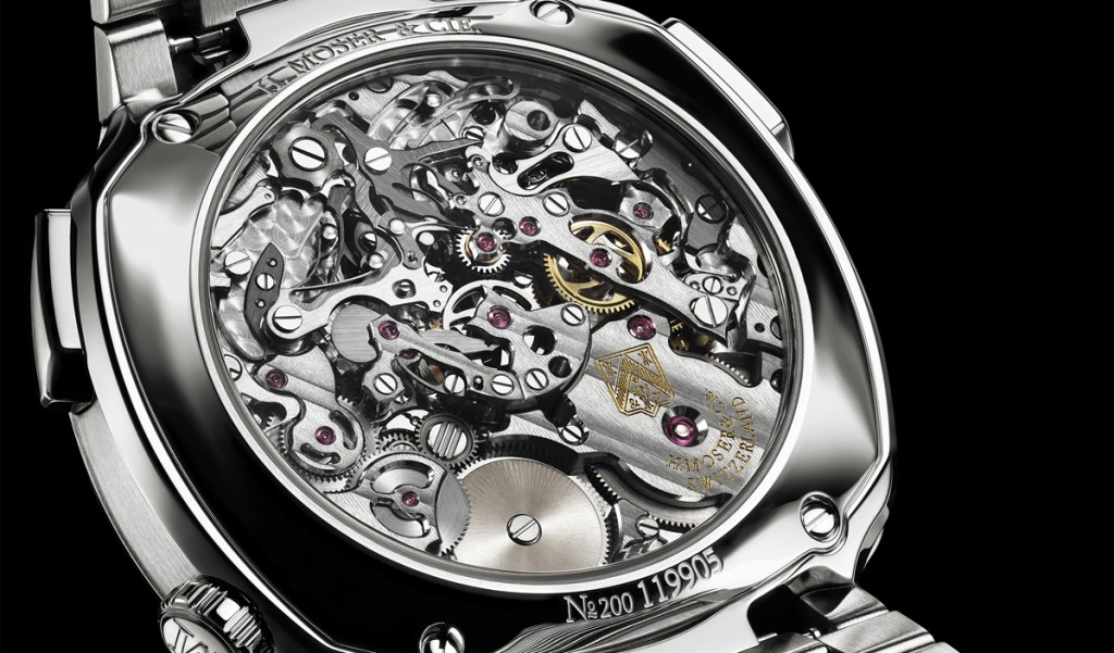 H. Moser Streamliner Flyback Chronograph Automatic Back