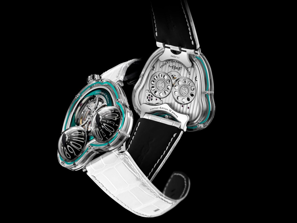 MB&F HM3 Frog X Turquise