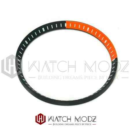 Orange and Black chapter ring for skx007