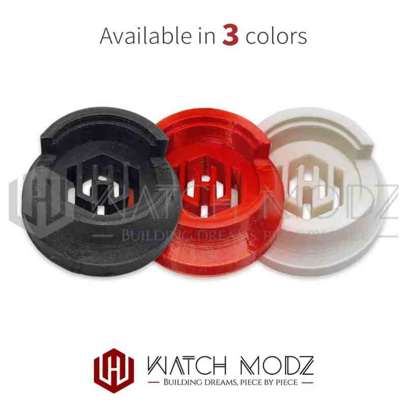 Three colors of nh36 movement holders
