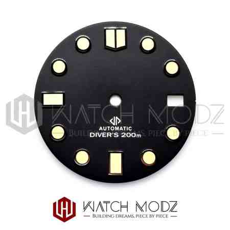 28.5mm C3 MM Style Dial for seiko mod