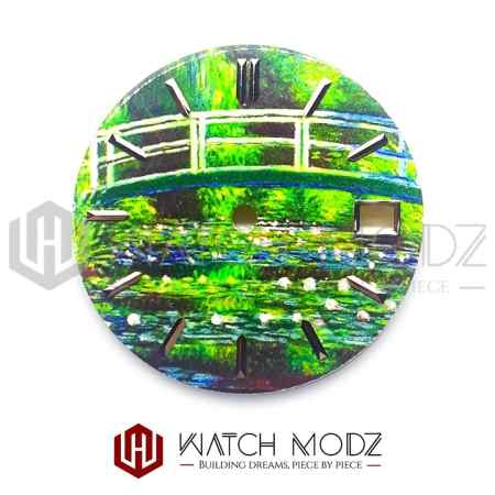 28.5mm Fantasy Stream Dial for nh35 movement
