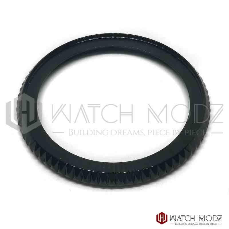 Seiko SKX007 Bezel: Polished Black MM300