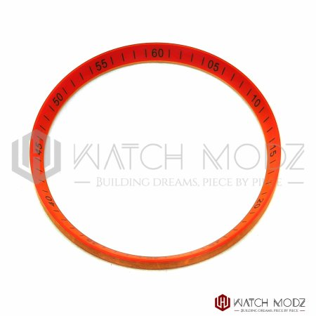 Skx007 chapter ring orange with black numbers