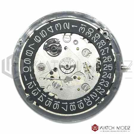 Seiko sii nh35 movement with black date whe