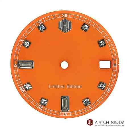 NH35 Orange Swarovski dial