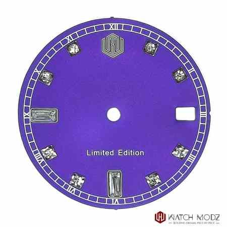 NH35 Purple Swarovski dial