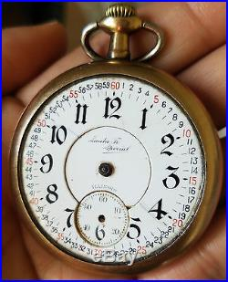Watch Repair Santa Fe : watch, repair, santa, Vintage, 21Jewels, Illinois, Santa, Special, Pocket, Watch, Parts, Repair