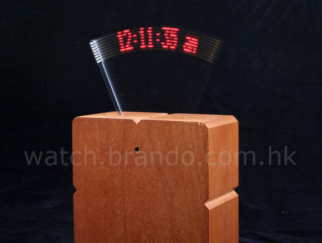 Wooden Message Floating Clock