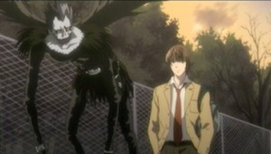 Death-Note-Episode-3-Light-and-Ryuk-being-followed