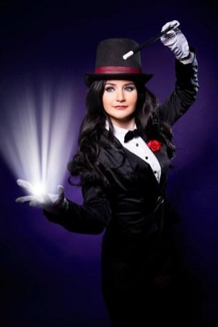 Zatanna Zatara (DC Comics) fotós: Isó Éva