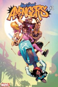Eldurrant az utolsó agysejtem – West Coast Avengers #1