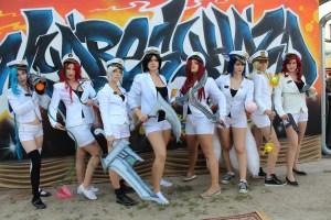 8. Nyáregyháza Fesztivál cosplayes megjelenés