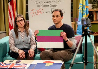 Big Bang Theory S12E13 – The Confirmation Polarization