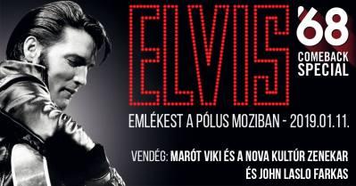 Elvis Presley Emlékest a Pólus Moziban