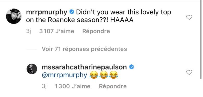 Ryan murphy trolle sarah paulson