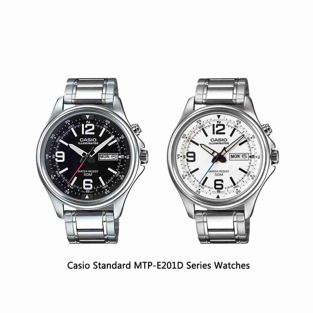 Casio Standard MTP-E201D Series Analog Men's Wrist Watches