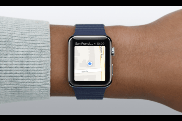 Como usar o Mapas no Apple Watch