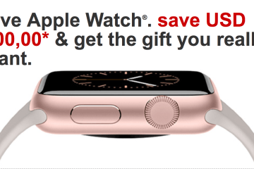 Best Buy e Target reduzem $100 nos preços do Apple Watch