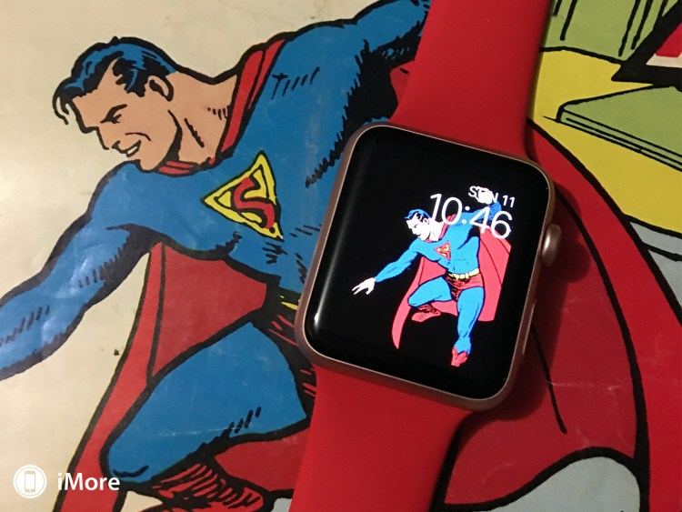 Como inserir o Batman, Superman ou outro personagem no seu Apple Watch