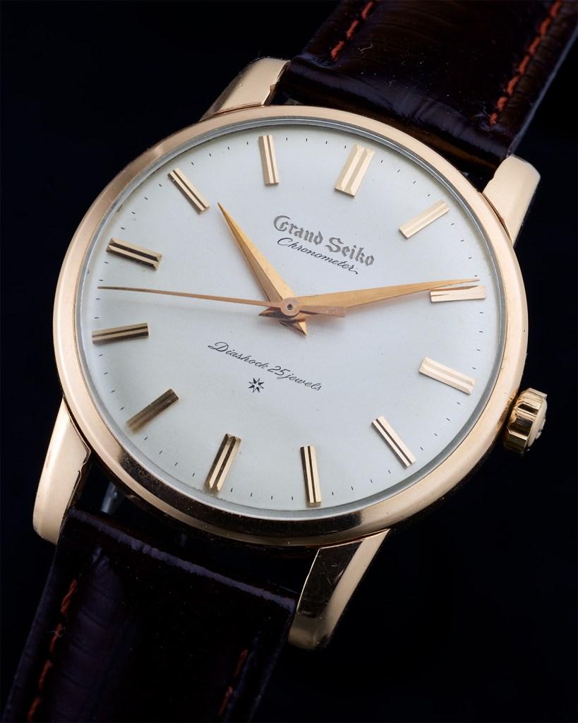 Grand Seiko Chronometer carved dial