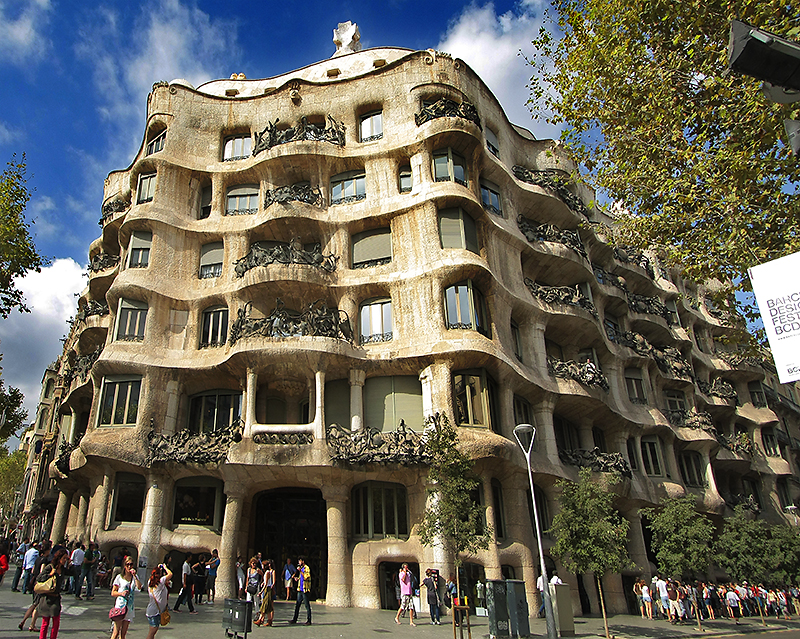 La Pedrera  Casa Mila  My Journey into the World