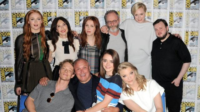 The Game of Thrones cast at San Diego Comic Con 2015