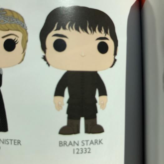 Bran Stark Funko Pop 2017