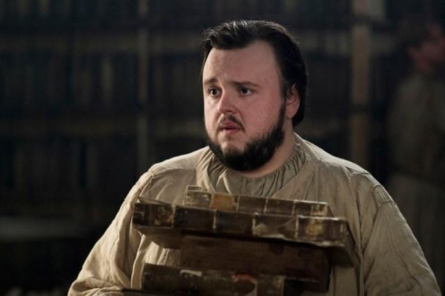 John Bradley as Samwell Tarly, at the Citadel. Photo: HBO
