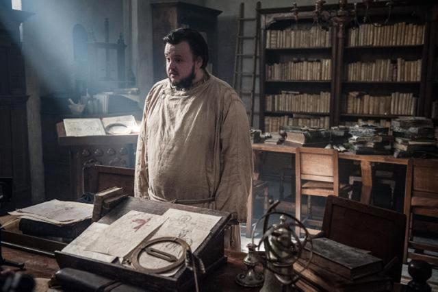 John Bradley as Samwell Tarly. Photo: HBO