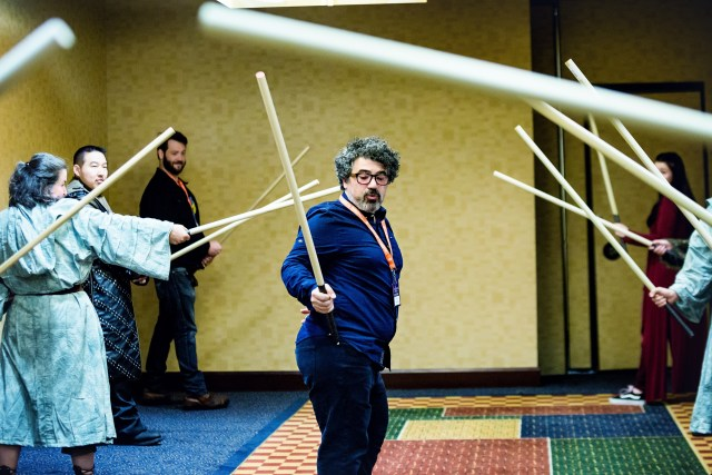 Miltos Yerolemou Con of Thrones 2018