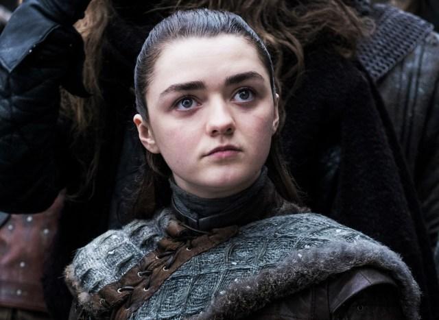 Arya Stark, Winterfell, Season 8