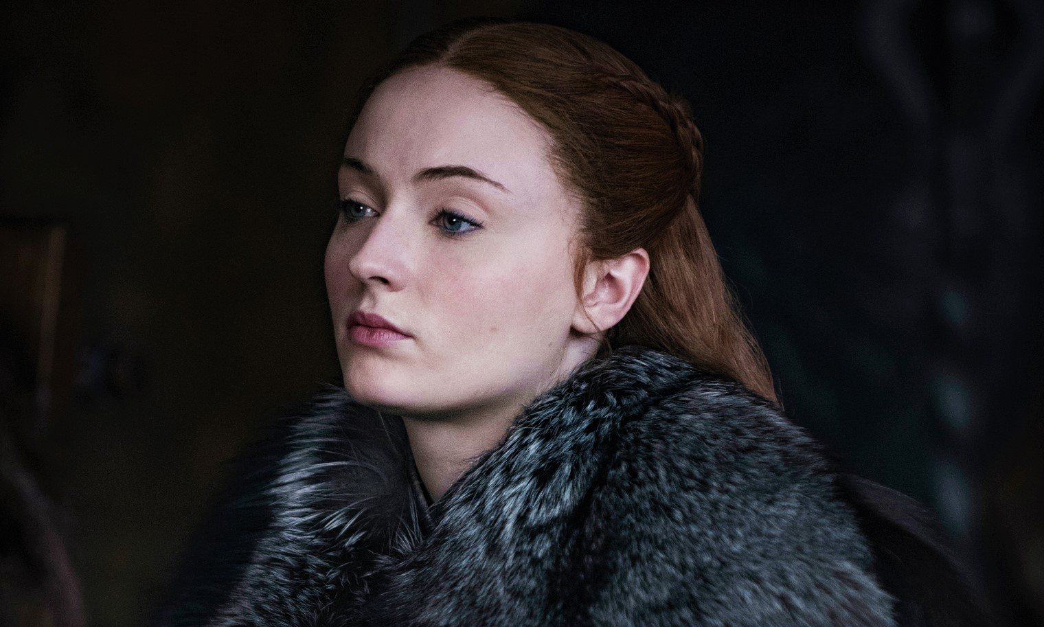 Press junkets begin for Game of Thrones Season 8 and Sophie Turner reveals a costume change for