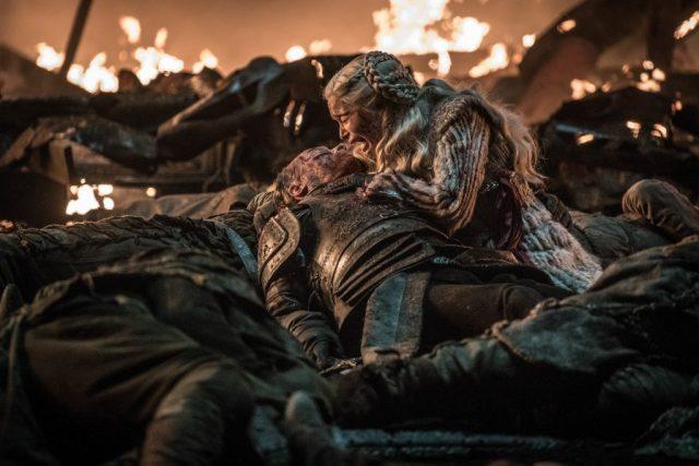 Daenerys Dany Targaryen Jorah Mormont Season 8 803 The Long Night