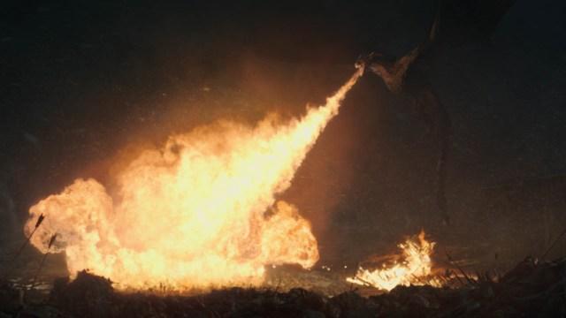Drogon Season 8 803 The Long Night