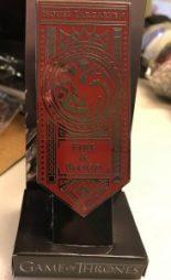 House Targaryen Sigil Banner Pin