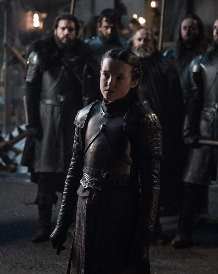 Bella Ramsey as Lyanna Mormont. Photo: Helen Sloan / HBO