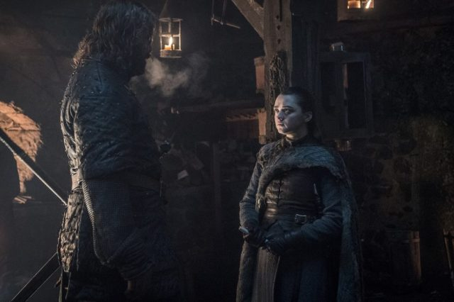 The Hound Arya Winterfell