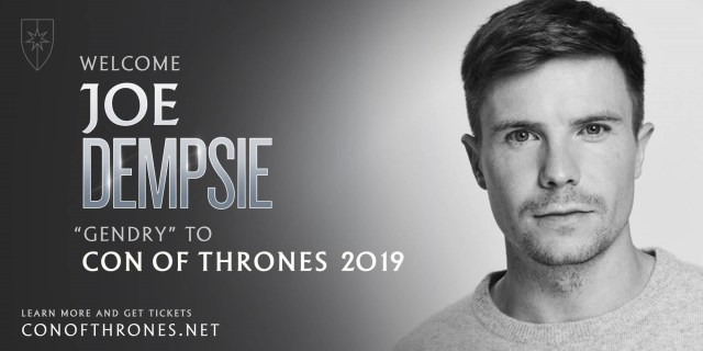 Joe Dempsie Con of Thrones 2019